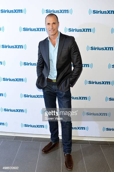 TV personality Nigel Barker visits SiriusXM Studios on November 23 2015 in New York City