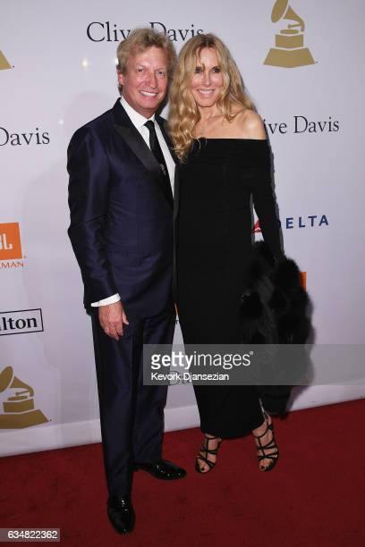 TV personality Nigel Lythgoe attends PreGRAMMY Gala and Salute to Industry Icons Honoring Debra Lee at The Beverly Hilton on February 11 2017 in Los...