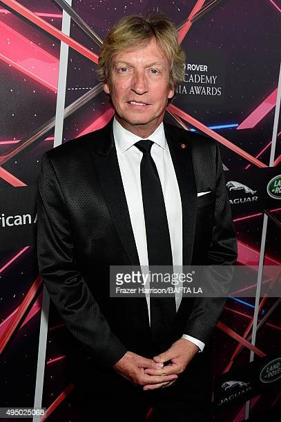 TV personality Nigel Lythgoe attends the 2015 Jaguar Land Rover British Academy Britannia Awards presented by American Airlines at The Beverly Hilton...