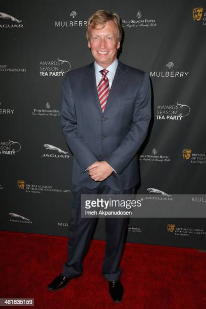 V personality Nigel Lythgoe attends the BAFTA LA 2014 Awards Season Tea Party at the Four Seasons Hotel Los Angeles at Beverly Hills on January 11...