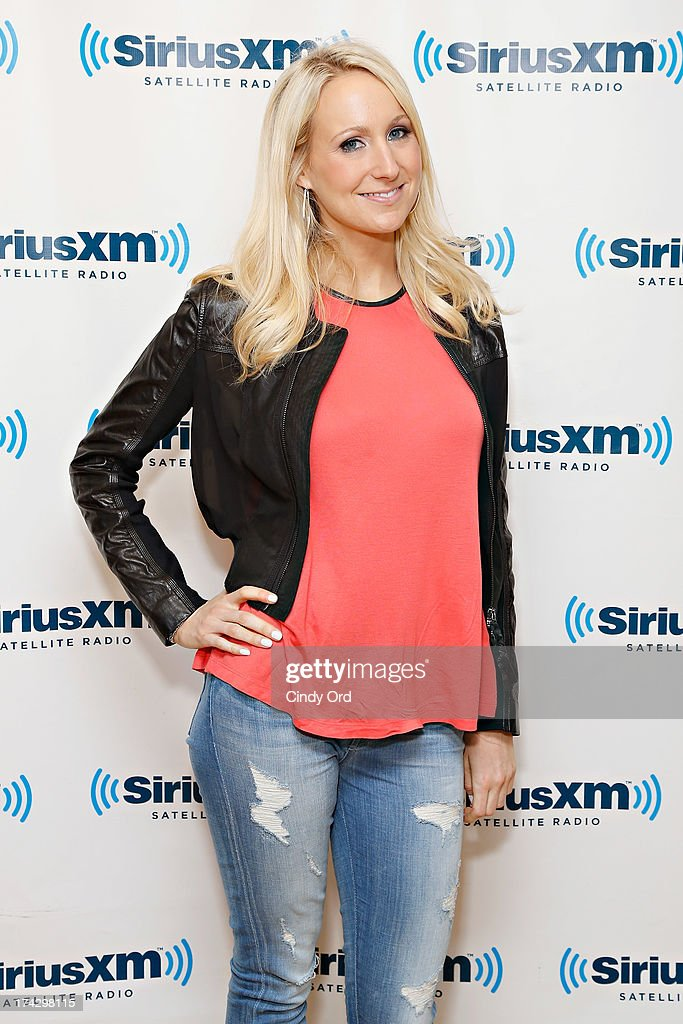 TV personality Nikki Glaser visits the SiriusXM Studios on July 23, 2013 in New York City.
