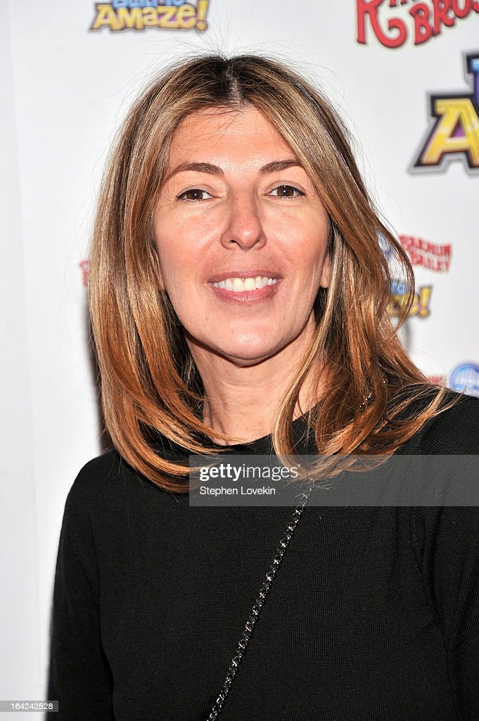 TV personality Nina Garcia attends Ringling Bros. And Barnum & Bailey Present Built To Amaze! on March 21, 2013 in New York City.