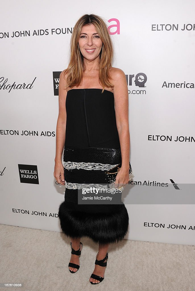 TV Personality Nina Garcia attends the 21st Annual Elton John AIDS Foundation Academy Awards Viewing Party at West Hollywood Park on February 24, 2013 in West Hollywood, California.