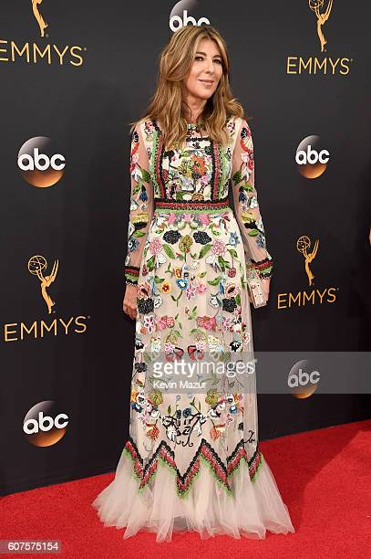 TV personality Nina Garcia attends the 68th Annual Primetime Emmy Awards at Microsoft Theater on September 18 2016 in Los Angeles California