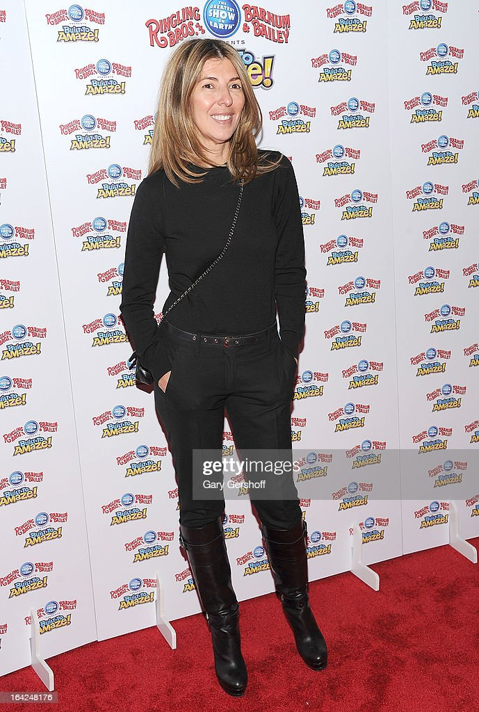TV personality Nina Garcia attends the Ringling Bros. and Barnum & Bailey 'Build To Amaze!' Opening Night at Barclays Center on March 21, 2013 in the Brooklyn borough of New York City.