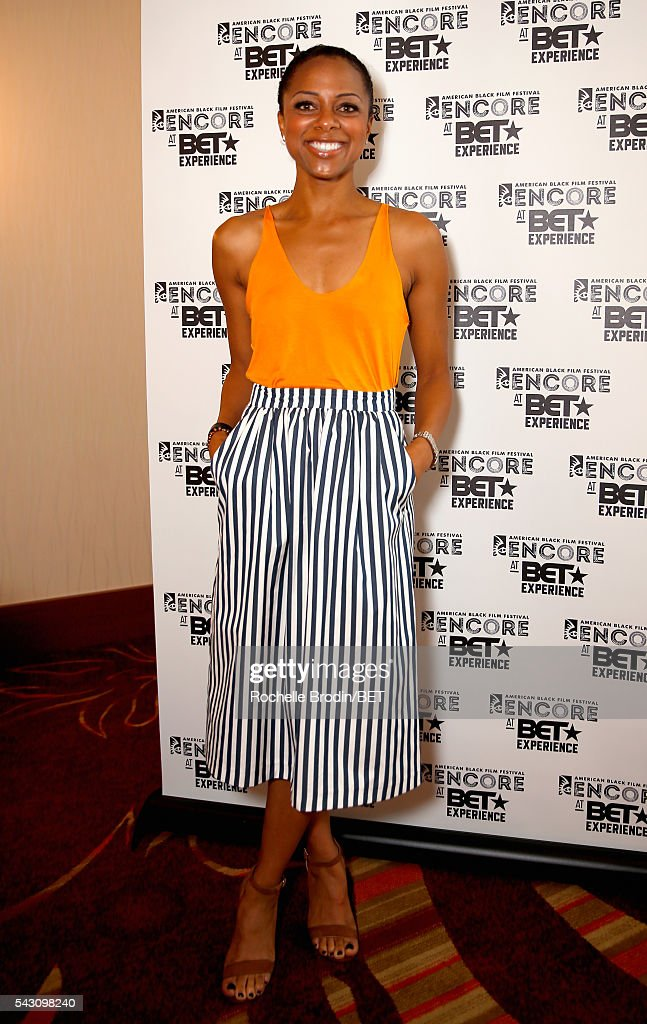 TV personality Nischelle Turner attends the ABFF Encore @ BET Experience Screening The Life of a Showrunner / Master Class during the 2016 BET Experience on June 25, 2016 in Los Angeles, California.