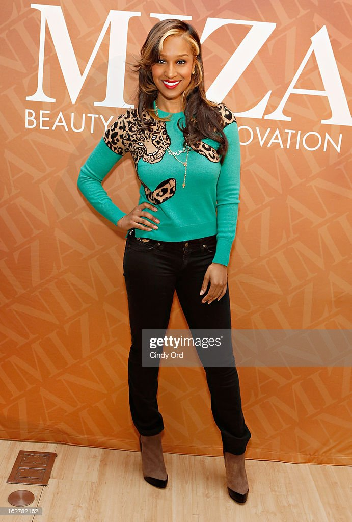 TV personality Olivia Longott attends 'The Spoken Word' hosted by Kim Coles at L'Oreal Soho Academy on February 26, 2013 in New York City.