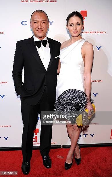 TV personality Olivia Palermo and designer Joe Zee attends DKMS' 4th Annual Gala Linked Against Leukemia at Cipriani 42nd Street on April 29 2010 in...