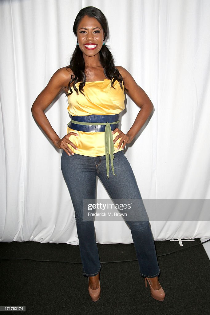 TV Personality Omarosa Manigault attends Radio Room Day 1 during the 2013 BET Awards at JW Marriott Los Angeles at L.A. LIVE on June 28, 2013 in Los Angeles, California.