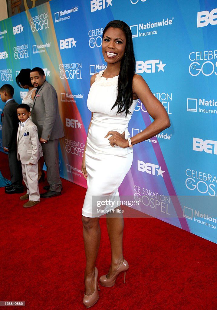TV personality Omarosa Manigault attends the BET Celebration of Gospel 2013 at Orpheum Theatre on March 16, 2013 in Los Angeles, California.