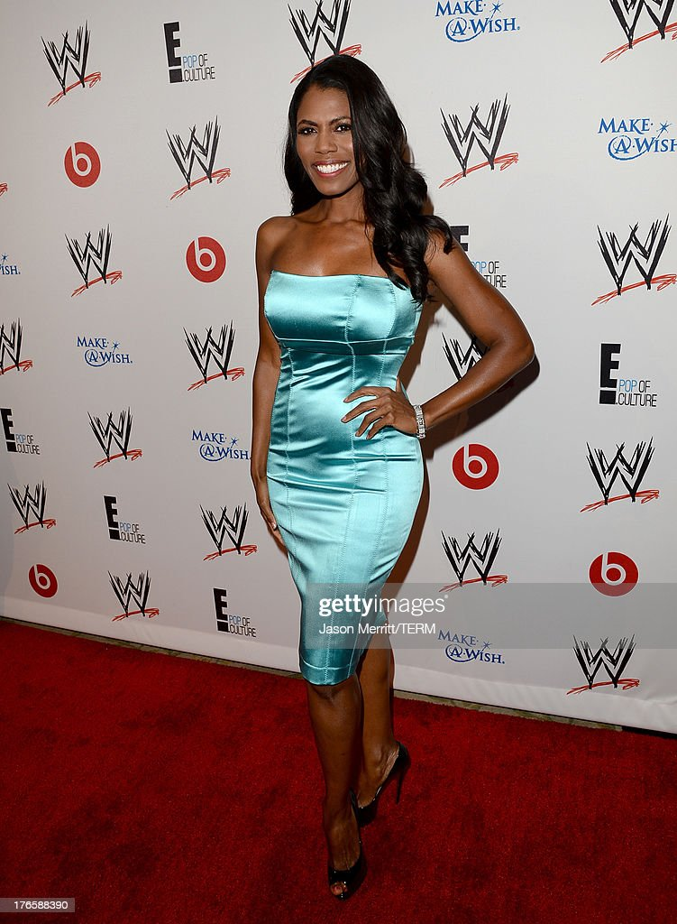 TV personality Omarosa Manigault attends WWE & E! Entertainment's 'SuperStars For Hope' at the Beverly Hills Hotel on August 15, 2013 in Beverly Hills, California.