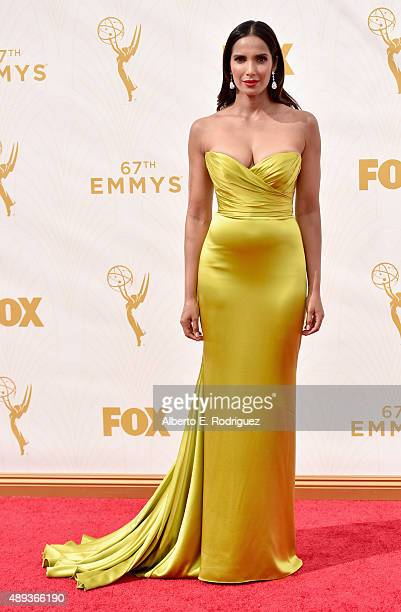 TV personality Padma Lakshmi attends the 67th Emmy Awards at Microsoft Theater on September 20 2015 in Los Angeles California 25720_001