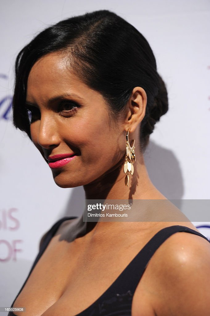 TV Personality Padma Lakshmi attends The Endometriosis Foundation of America's Celebration of The 5th Annual Blossom Ball at Capitale on March 11, 2013 in New York City.