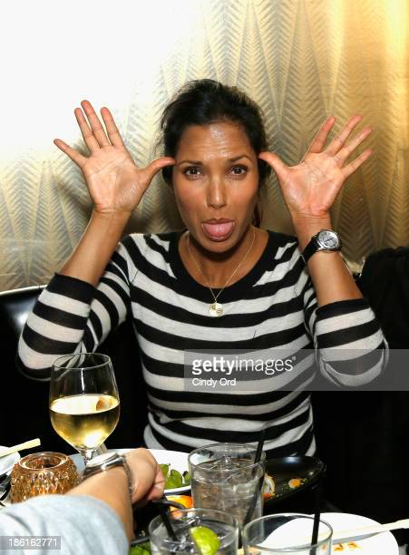 TV personality Padma Lakshmi attends the LAByrinth Theater Company Celebrity Charades 2013 Benefit Gala After Party at the Jazz Room at The General...
