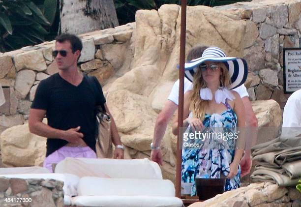TV personality Pandora Vanderpump sighting on August 25 2014 in Cabo San Lucas Mexico