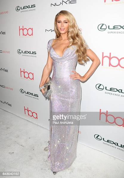 Personality Paris Hilton attends the 3rd annual Hollywood Beauty Awards at Avalon Hollywood on February 19 2017 in Los Angeles California