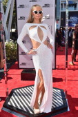 TV personality Paris Hilton attends the Pantene Style Stage during BET AWARDS '14 at Nokia Theatre LA LIVE on June 29 2014 in Los Angeles California