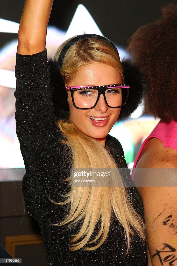 TV personality Paris Hilton attends the T-Mobile Presents Google Music at TAO, a nightlife event at the 2012 Sundance Film Festival on January 21, 2012 in Park City, Utah.