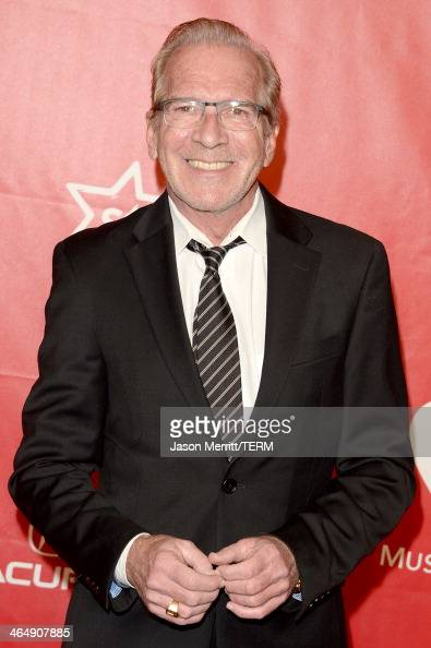 TV personality Pat O'Brien attends The 2014 MusiCares Person Of The Year Gala Honoring Carole King at Los Angeles Convention Center on January 24...