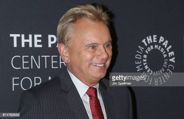 TV personality Pat Sajak attends The Wheel of Fortune 35 Years as America's Game hosted by The Paley Center For Media at The Paley Center for Media...