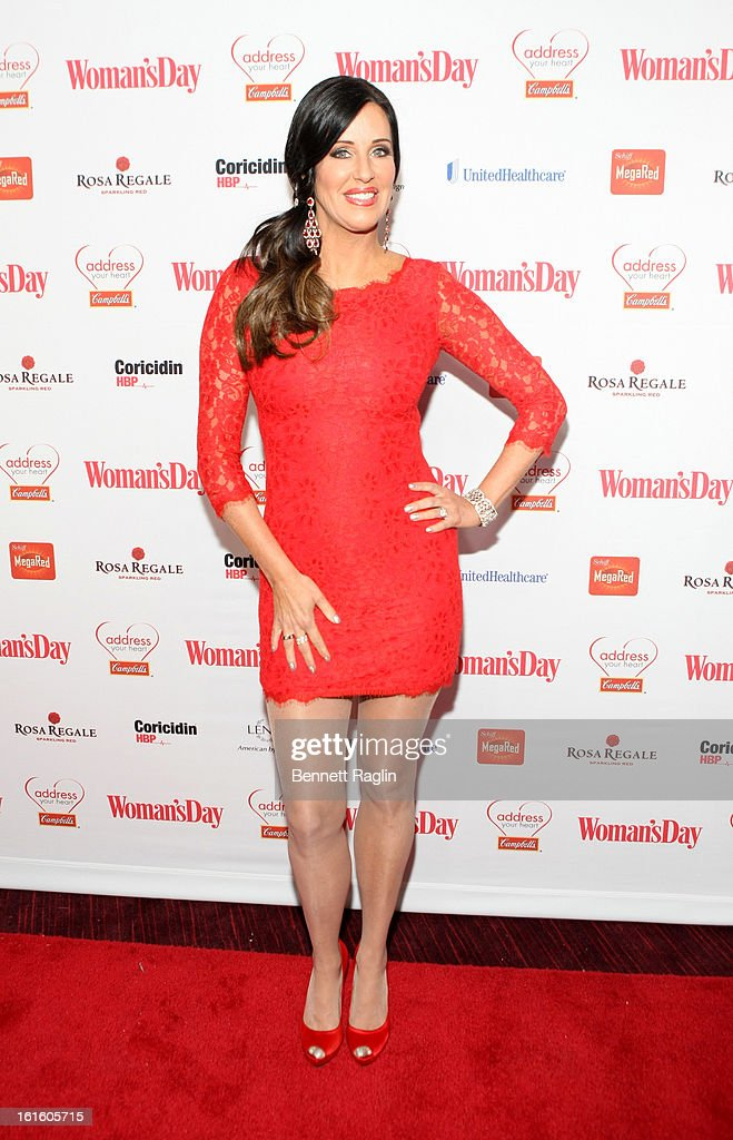 TV personality Patti Stanger attends the 10th Annual Red Dress Awards at Jazz at Lincoln Center on February 12, 2013 in New York City.