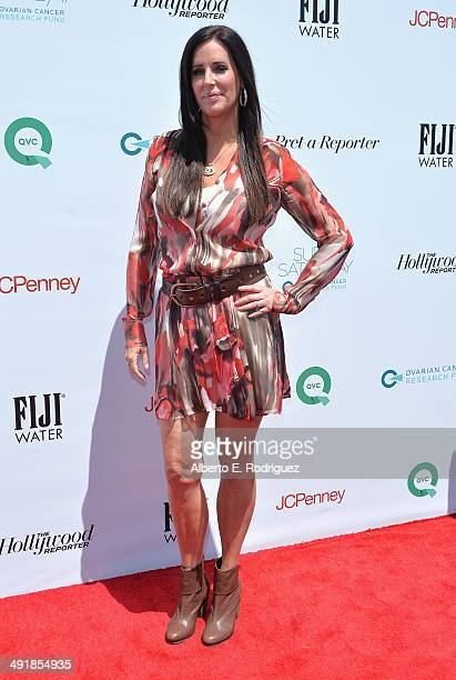 TV personality Patti Stanger attends the Ovarian Cancer Research Fund's Inaugural Super Saturday LA hosted by Molly Sims and Rachel Zoe at Barker...