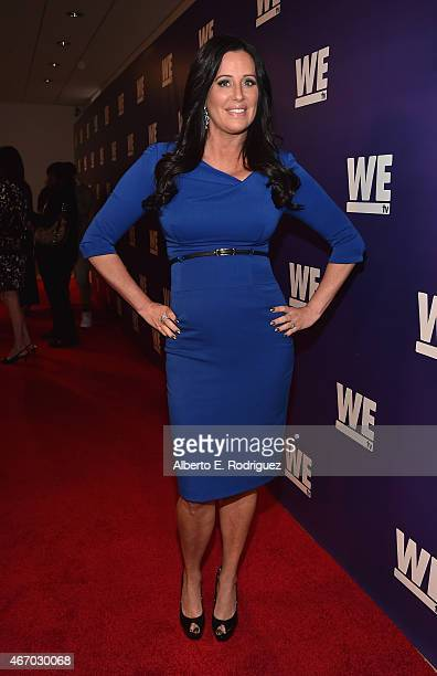 TV personality Patti Stanger attends the WE tv presents 'The Evolution of The Relationship Reality Show' at The Paley Center for Media on March 19...