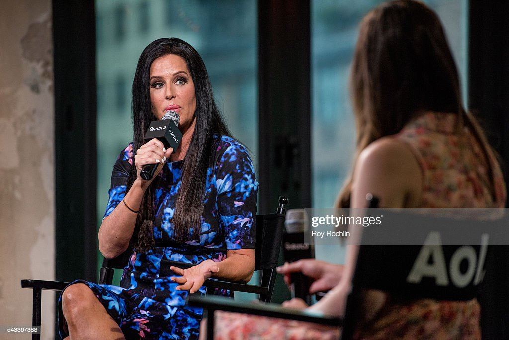 TV Personality <a gi-track='captionPersonalityLinkClicked' href=/galleries/search?phrase=Patti+Stanger&family=editorial&specificpeople=5446458 ng-click='$event.stopPropagation()'>Patti Stanger</a> discusses 'Million Dollar Matchmaker' with AOL Build at AOL Studios In New York on June 27, 2016 in New York City.