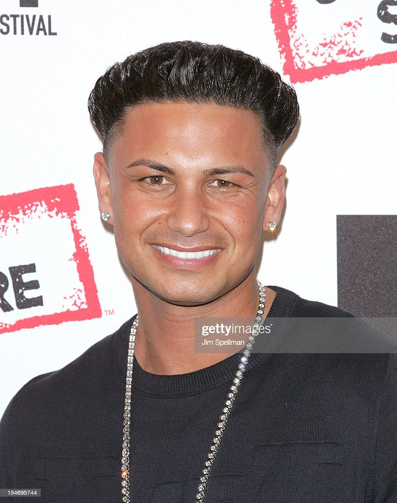 TV Personality Paul 'Pauly D' Delvecchio attends 'Love, Loss, (Gym, Tan) and Laundry: A Farewell To The Jersey Shore' during the 2012 New York Television Festival at 92Y Tribeca on October 24, 2012 in New York City.