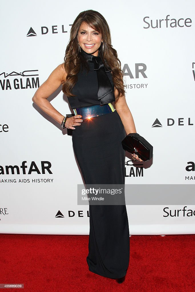 TV personality <a gi-track='captionPersonalityLinkClicked' href=/galleries/search?phrase=Paula+Abdul&family=editorial&specificpeople=202119 ng-click='$event.stopPropagation()'>Paula Abdul</a> attends the 2013 amfAR Inspiration Gala Los Angeles at Milk Studios on December 12, 2013 in Los Angeles, California.