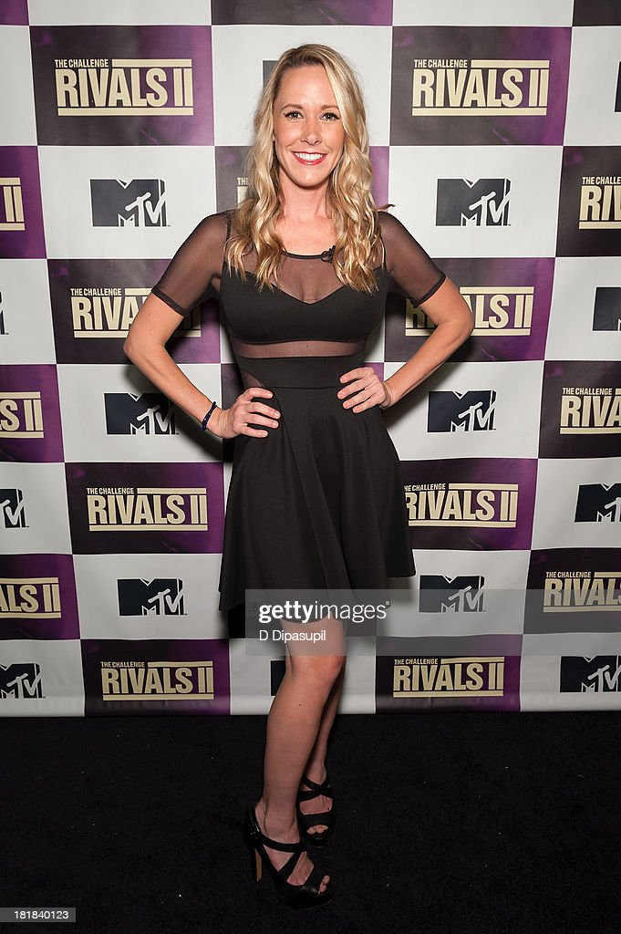 TV personality Paula Meronek attends MTV's 'The Challenge: Rivals II' Final Episode and Reunion Party at Chelsea Studio on September 25, 2013 in New York City.
