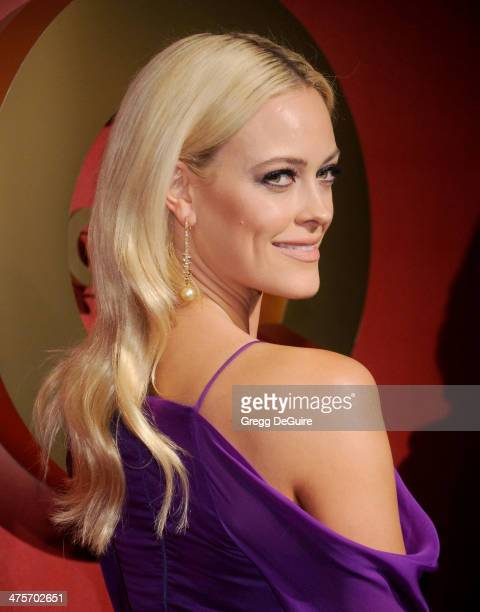 TV personality Peta Murgatroyd arrives at the QVC 5th Annual Red Carpet Style event at The Four Seasons Hotel on February 28 2014 in Beverly Hills...