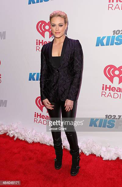 TV personality Peta Murgatroyd attends KIIS FM's Jingle Ball 2013 at Staples Center on December 6 2013 in Los Angeles CA
