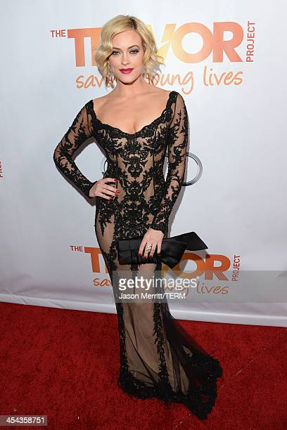 TV personality Peta Murgatroyd attends 'TrevorLIVE LA' honoring Jane Lynch and Toyota for the Trevor Project at Hollywood Palladium on December 8...