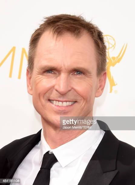 TV personality Phil Keoghan attends the 66th Annual Primetime Emmy Awards held at Nokia Theatre LA Live on August 25 2014 in Los Angeles California