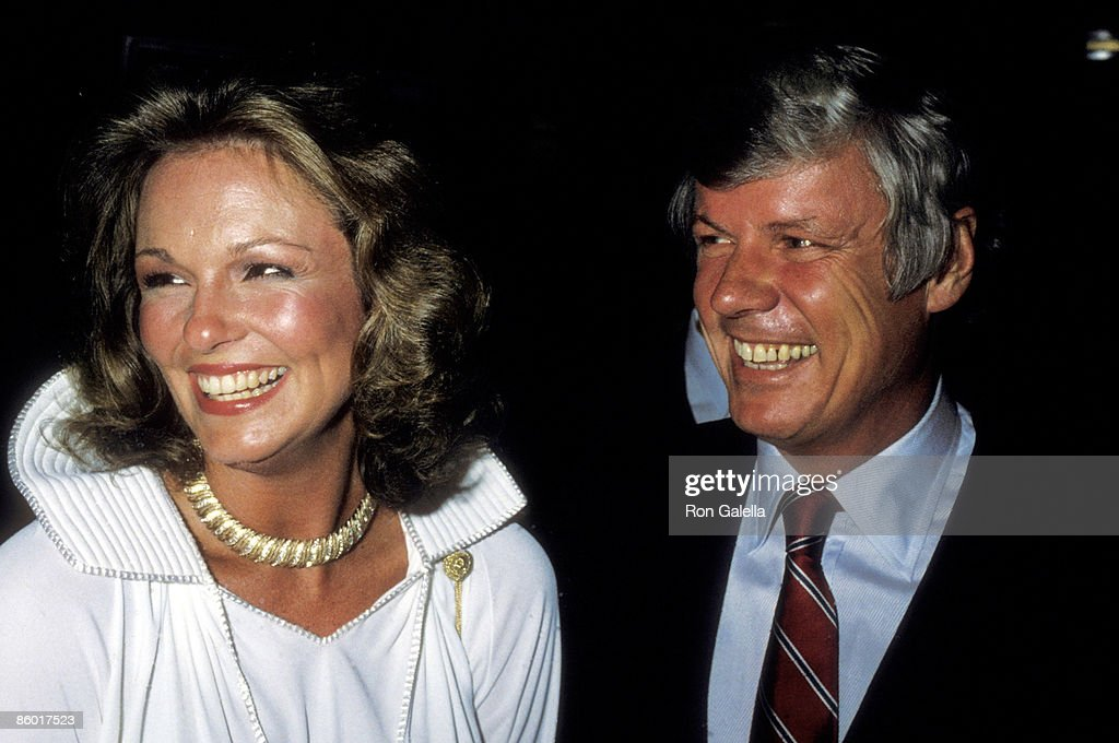 TV personality Phyllis George and Governor John Y. Brown, Jr. attend the Eighth Annual Robert F. Kennedy Pro-Celebrity Tennis Tournament - Pre-Party Reception on August 24, 1979 at The Rainbow Room, Rockefeller Plaza in New York City.