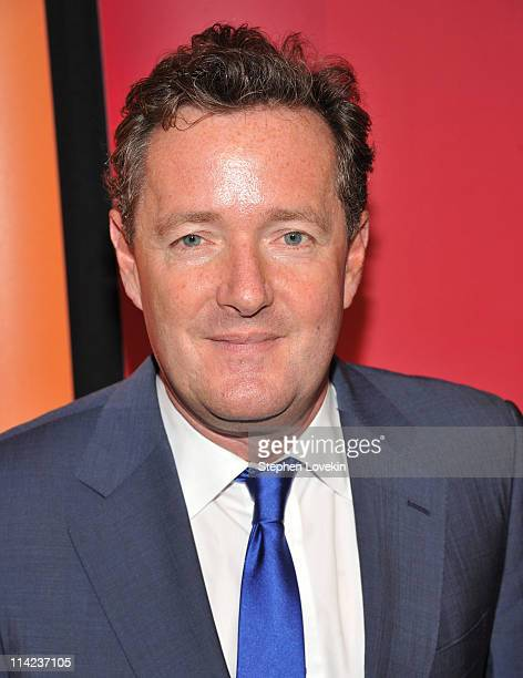 TV personality Piers Morgan attends the 2011 NBC Upfront at The Hilton Hotel on May 16 2011 in New York City