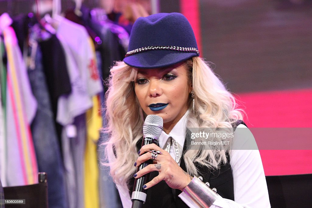 TV personality Po Johnson visits 106 & Park at 106 & Park studio on October 7, 2013 in New York City.