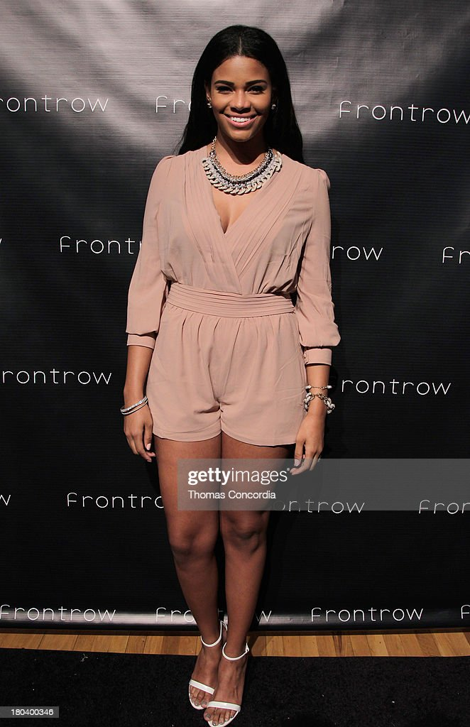 TV Personality Porsha Stewart attends FrontRow by Shateria Moragne-El at the STYLE360 Fashion Pavilion in Chelsea on September 11, 2013 in New York City.