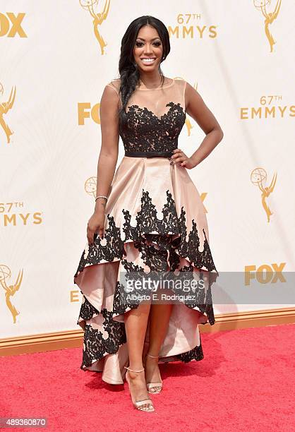 TV personality Porsha Williams attends the 67th Emmy Awards at Microsoft Theater on September 20 2015 in Los Angeles California 25720_001