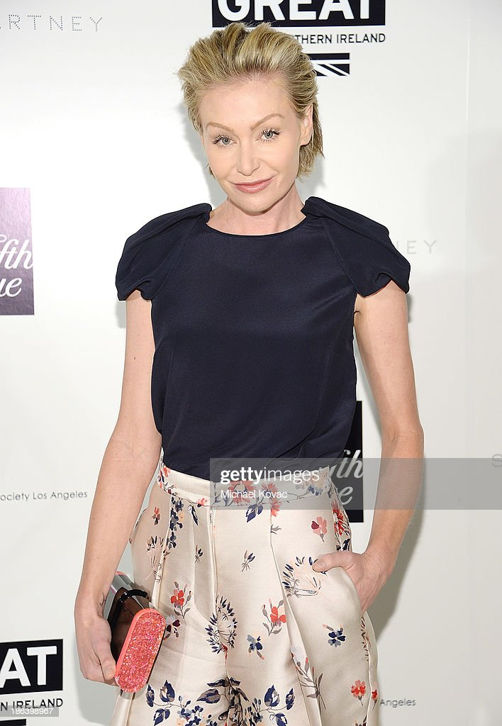 TV personality <a gi-track='captionPersonalityLinkClicked' href=/galleries/search?phrase=Portia+de+Rossi&family=editorial&specificpeople=204197 ng-click='$event.stopPropagation()'>Portia de Rossi</a> arrives at the Fourth Annual Autumn Party With Stella McCartney on October 30, 2013 in Los Angeles, California.