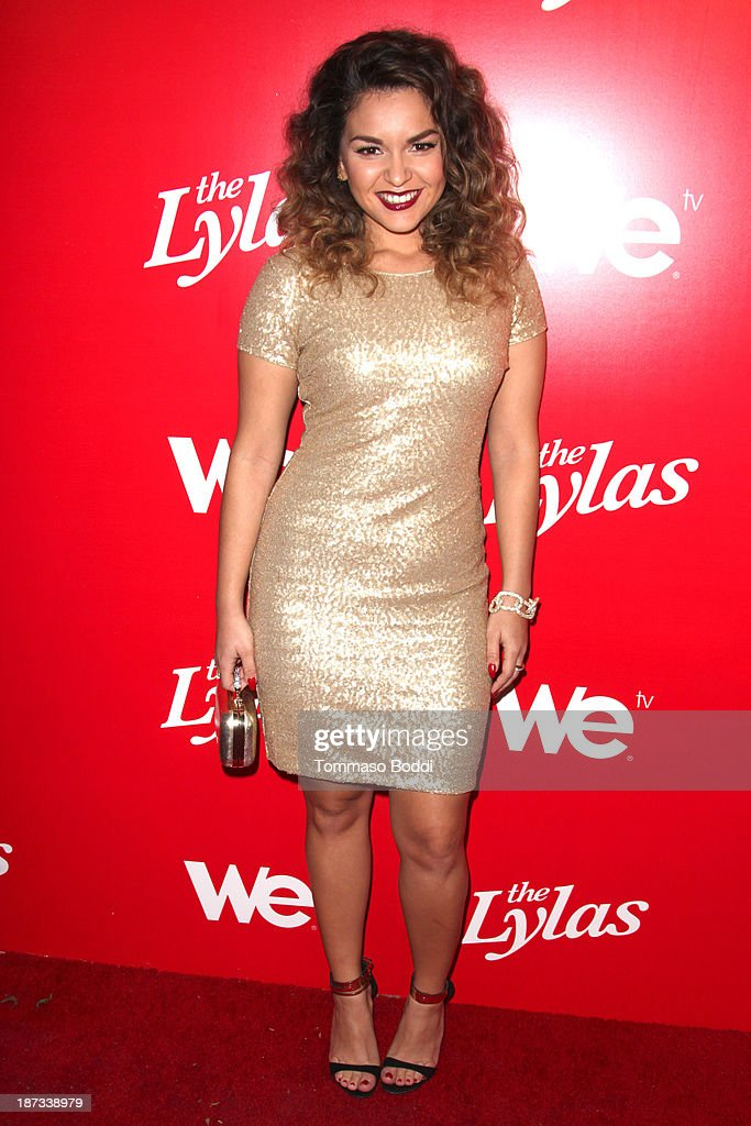 TV personality Presley Hernandez attends the WE tv's premiere party for 'The LYLAS' held at the Warwick on November 7, 2013 in Hollywood, California.