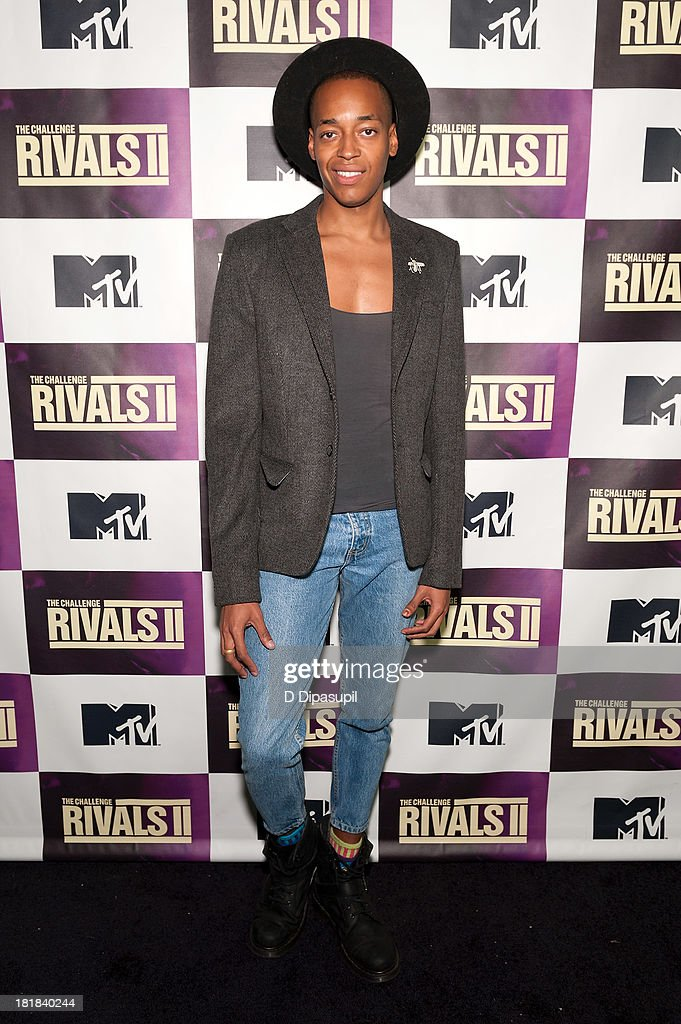 TV personality Preston Roberson-Charles attends MTV's 'The Challenge: Rivals II' Final Episode and Reunion Party at Chelsea Studio on September 25, 2013 in New York City.