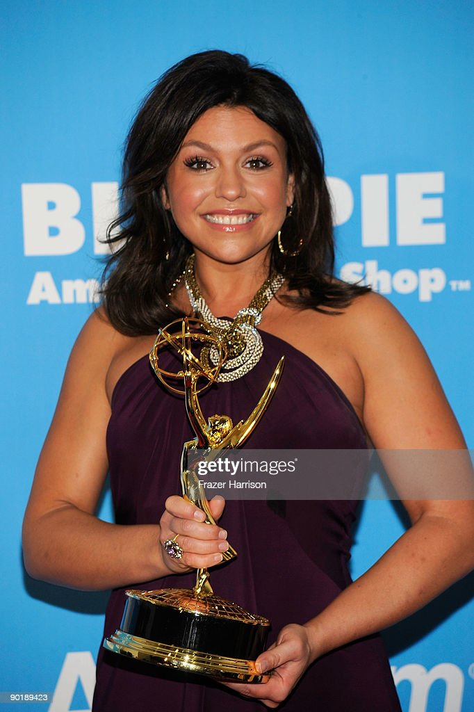 TV personality Rachael Ray poses in the press room at the 36th Annual Daytime Emmy Awards at The Orpheum Theatre on August 30, 2009 in Los Angeles, California.