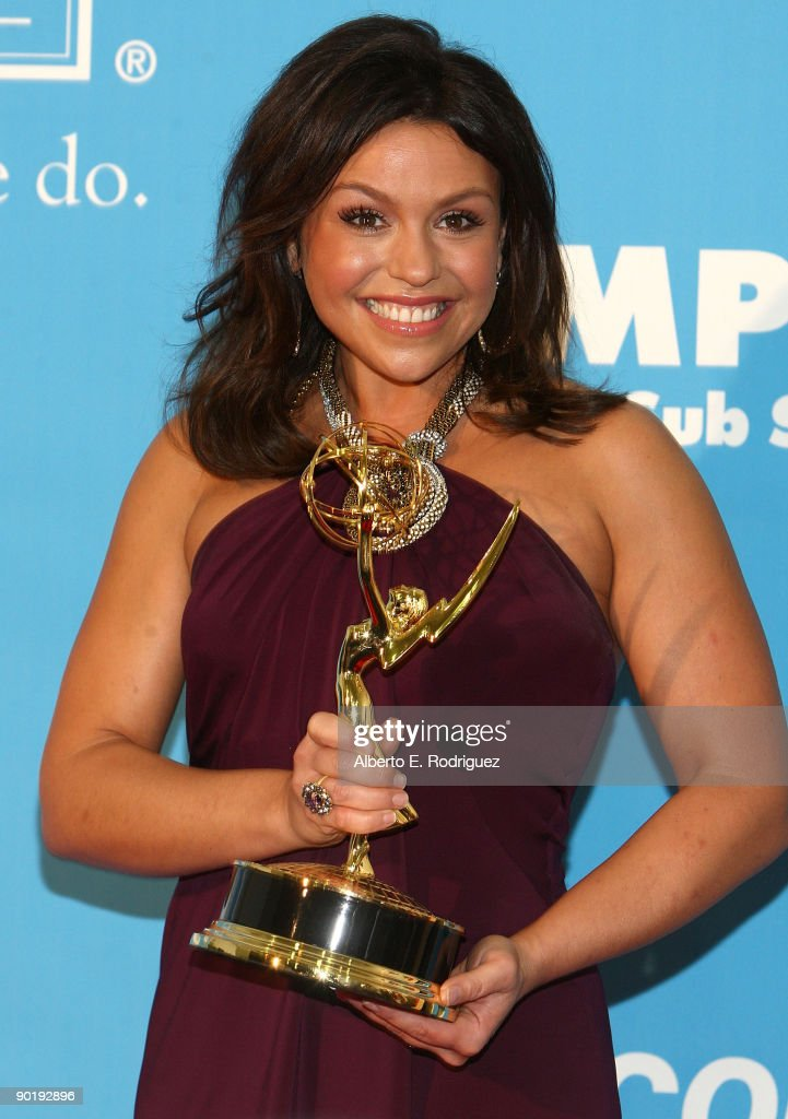 TV Personality Rachael Ray poses in the press room during the 36th Annual Daytime Emmy Awards at The Orpheum Theatre on August 30, 2009 in Los Angeles, California.