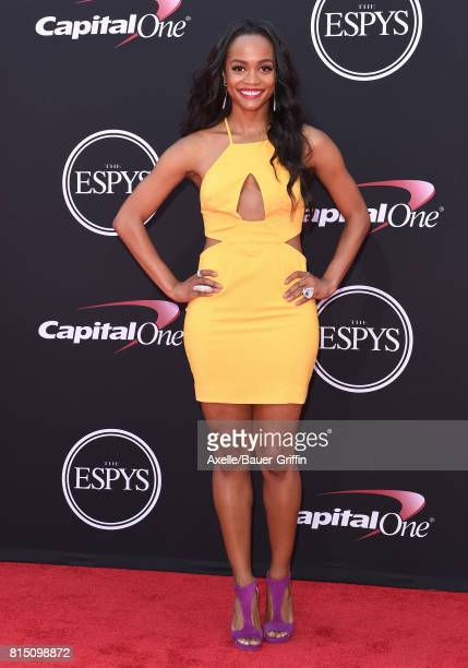 TV personality Rachel Lindsay arrives at the 2017 ESPYS at Microsoft Theater on July 12 2017 in Los Angeles California