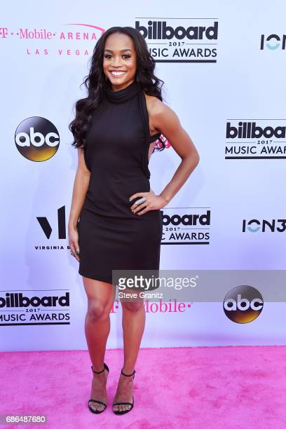 TV personality Rachel Lindsay attends the 2017 Billboard Music Awards at TMobile Arena on May 21 2017 in Las Vegas Nevada