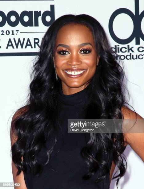 TV personality Rachel Lindsay attends the press room at the 2017 Billboard Music Awards at TMobile Arena on May 21 2017 in Las Vegas Nevada