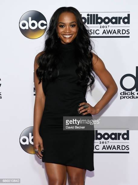 TV personality Rachel Lindsay poses in the press room during the 2017 Billboard Music Awards at TMobile Arena on May 21 2017 in Las Vegas Nevada