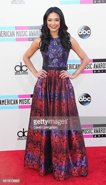 TV personality Rachel Smith attends the 2013 American Music Awards at Nokia Theatre LA Live on November 24 2013 in Los Angeles California